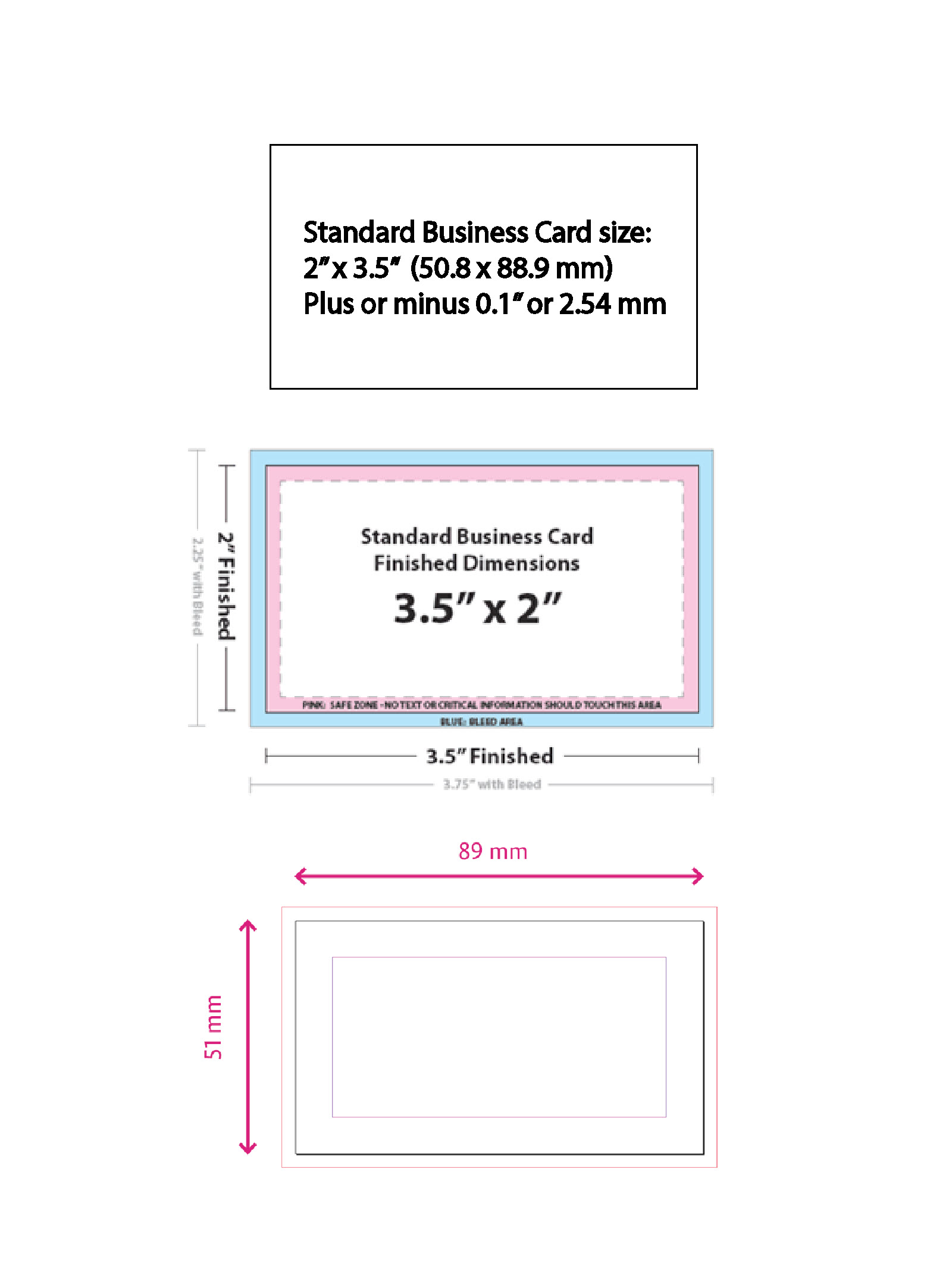 Cute standard business card size mm ideas business card ideas generous standard business card size cm gallery business card colourmoves Image collections
